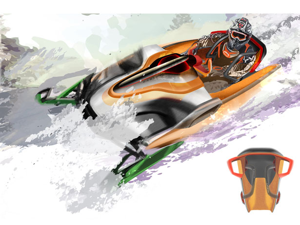 Oakley Personal Gear Vehicle Interior Design Study for 2024