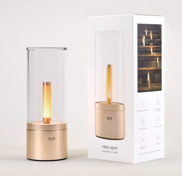 YEELIGHT Candela - Rechargeable LED Candle Light for Cozy and Calm Atmosphere