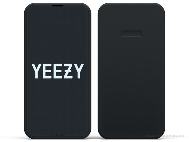 YEEZY Concept Phone by Osay Imarhiagbe