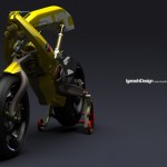 Yellow Motorcycle by Igarashi Design