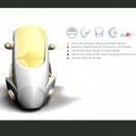 Protector Three Wheeled Motorcycle Concept by Tryi Yeh