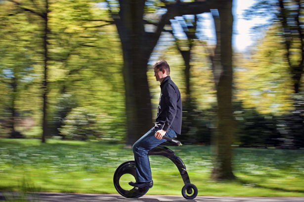 YikeBike Super Light Electric Folding Bike Fusion Model