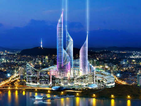 yongsan idb masterplan dream hub by fosters and partners