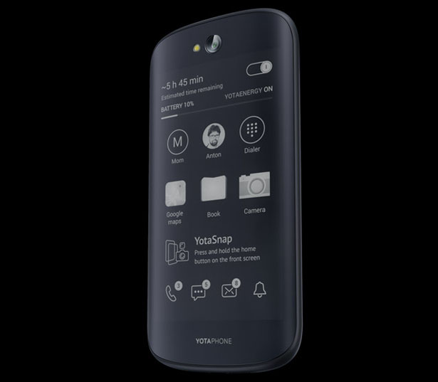 YotaPhone - Smartphone with 2 Screens
