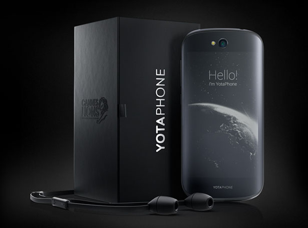 YotaPhone 2 Features Dual Screen Smartphone: Front and Back
