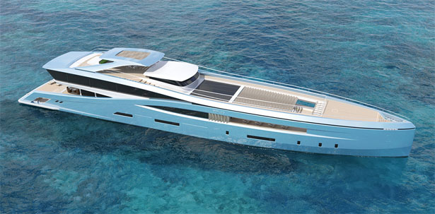 YUWANG Yacht Is Specially Designed for Asian Market by Jesse Huijser