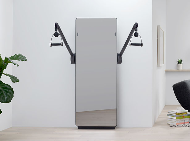 Yves Béhar Has Released AI-Powered Forme Smart Mirror for Home Gym