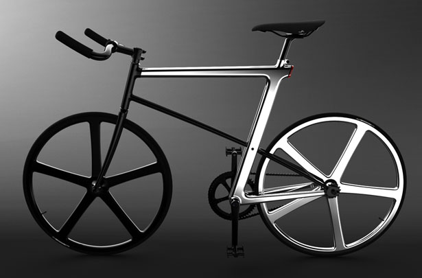 Z-Fixie bicycle by Jeongche Yoon
