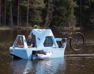 Zeltini Z-TRITON – House, Boat, and Trike in One