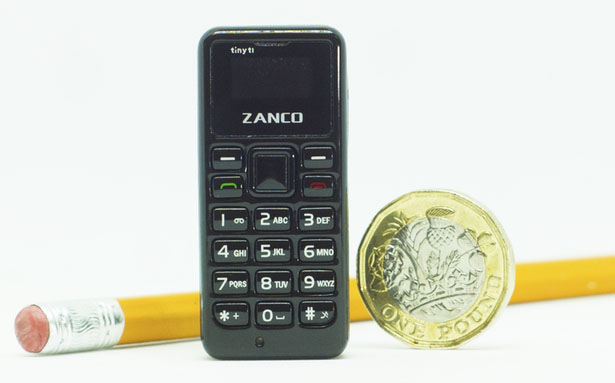Zanco Tiny T1 World's Smallest Phone