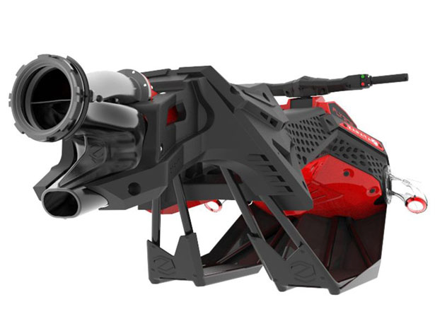 Futuristic Zapata Flyboard Flying Personal Watercraft