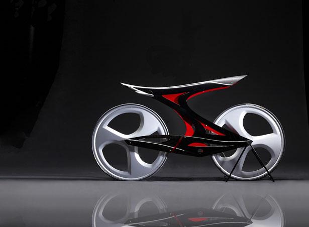 Zapfina Concept Bike by Jialing Hu