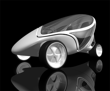 Z.Car Project : City Car Concept by Zaha Hadid