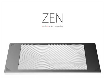 zen pc design for the visually impaired - tuvie