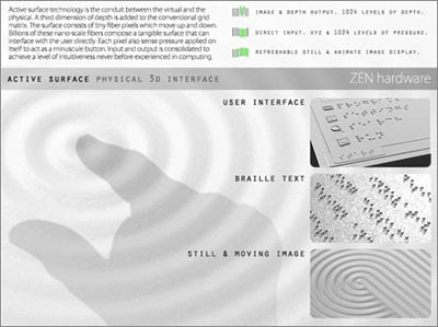 future zen pc for the visually impaired