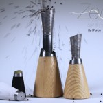 Zena : Salt and Pepper Concept Dinnerware was Inspired by Zen Aesthetics