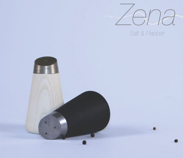 Zena Salt and Pepper Dinnerware by Charlie Hudson