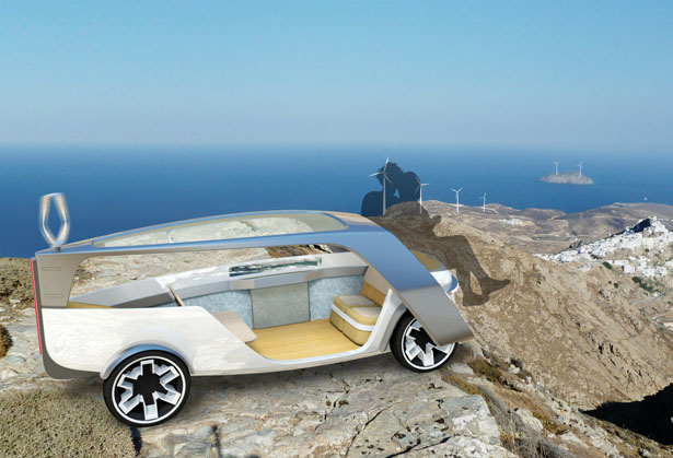 Zephyr Car Sharing Vehicle Concept by Stavros Mavrakis