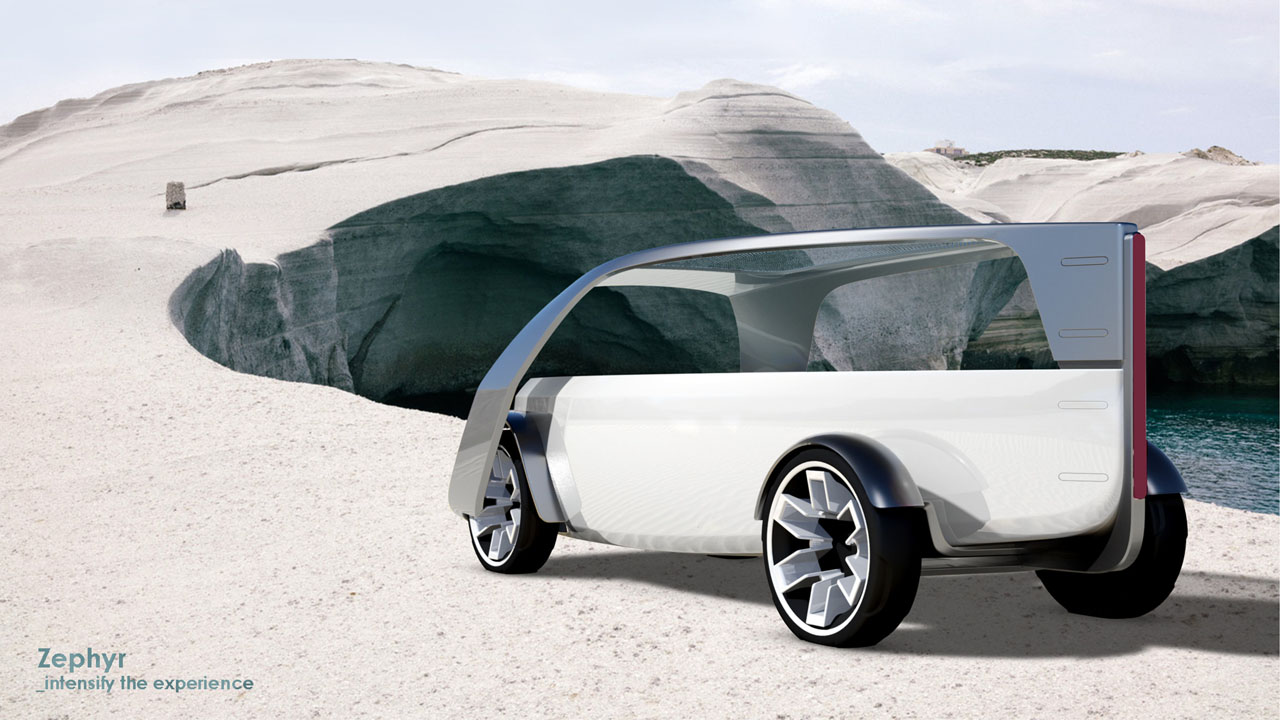 Zephyr Car Sharing Vehicle Concept By Stavros Mavrakis Tuvie The Electric Chevrolet Fnr