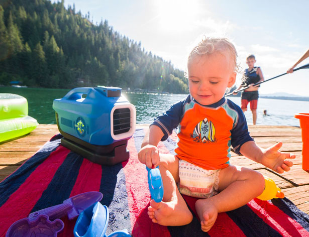 Zero Breeze Portable Battery-Powered Air Conditioner