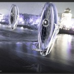 Futuristic Zero Gravity Tour for Prague Looks Like Giant Flying Hovercraft