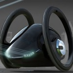 Zero Impact Vehicle Incorporates Innovative Two Wheel Green Design for Efficient City Use