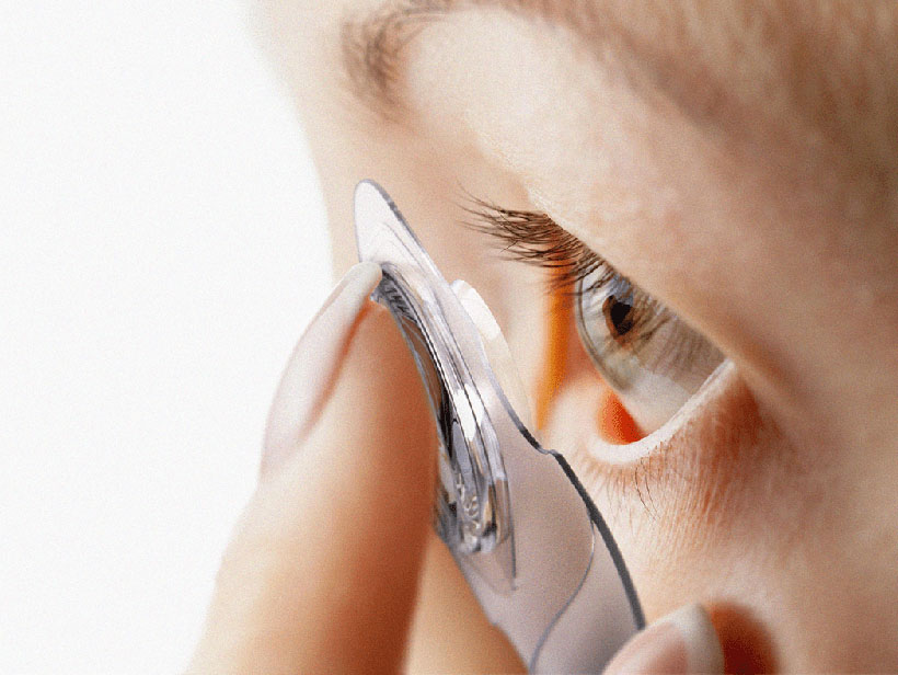 ZERO - Non Touch Contact Lenses by Junsik Oh