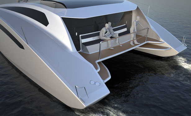 Zero Sail Concept Sailing Yacht by Julius Graupner and Thor Unbescheid