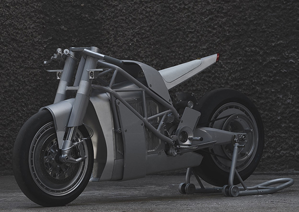 ZERO XP Experimental Electric Motorcycle from Untitled Motorcycles