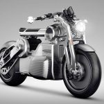 Futuristic Zeus All Electric Motorcycle Concept by Curtiss Motorcyles