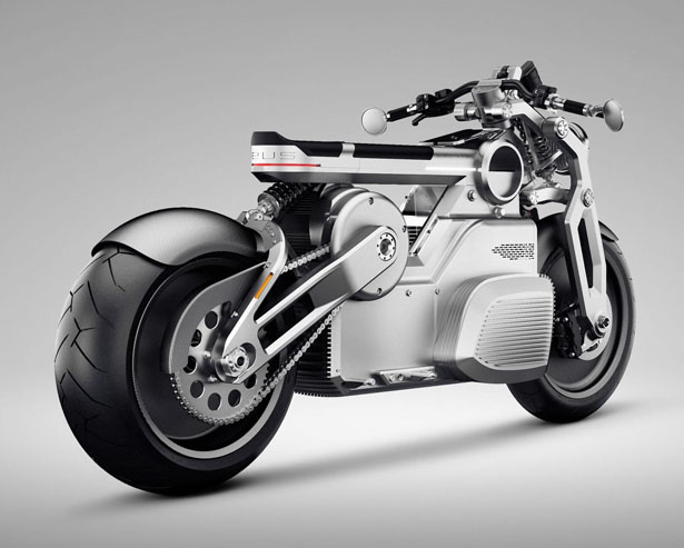 Zeus All Electric Motorcycle Concept by Curtiss Motorcyles