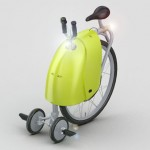 ZigZag Three Wheeled Personal Electric Vehicle