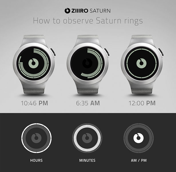 ZIIIRO Saturn Watch