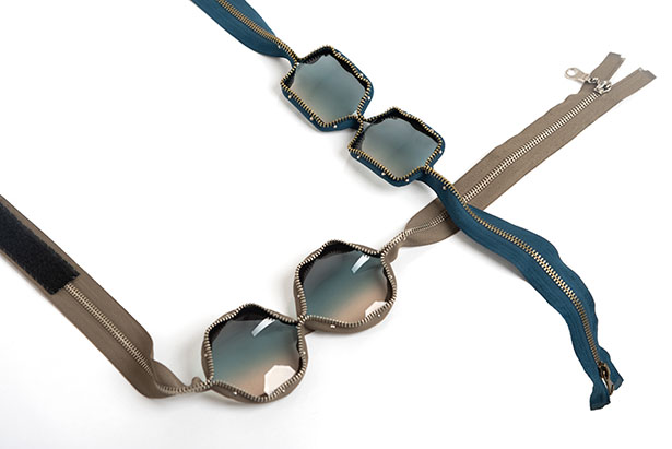 Zip Glasses by XYZ Integrated Architecture