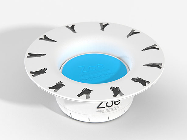 Zoe Handwashing Timer with Cool Animation by Chris Barnes