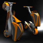 Stylish Zoomla Folding Bike for Quick Around-Town Transportation