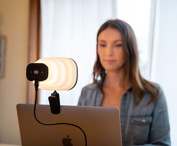 Zumy Portable Quality Light For Video Meetings