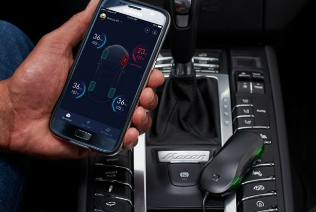 Nonda ZUS Smart Tire Safety Monitor Sends Tire Pressure Data Directly to Your Smartphone