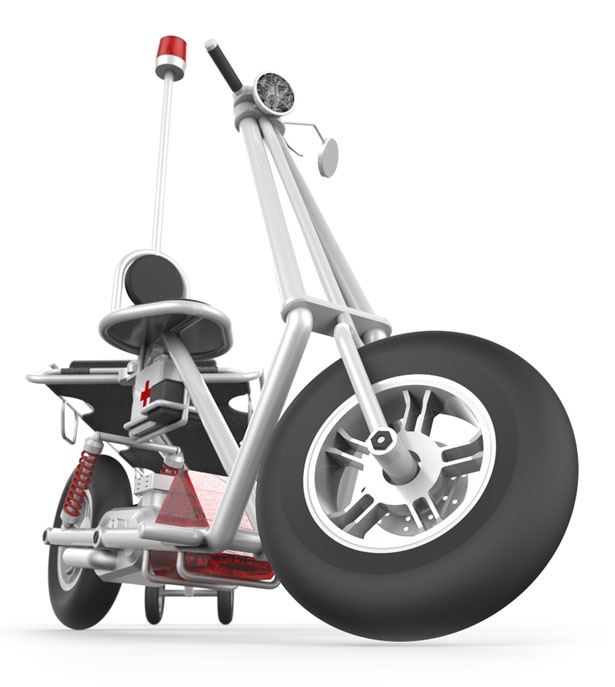 Zyphr Rescue Scooter by Gregory Hayter