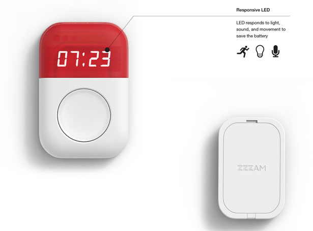 ZZZAM Alarm Clock by HyeonCheol Lee